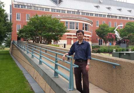 Zhenyu Li at GW's Virginia Science and Technology Campus