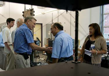 GW School of Engineering Alumni Tour Research Labs