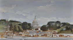 Capitol Study by Frank Demes
