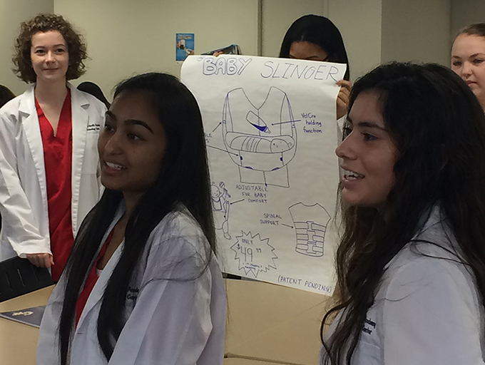 local students explore health science careers