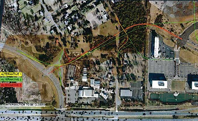Riverside Parkway Alignment study