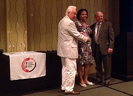 Professor Burley Receives Award