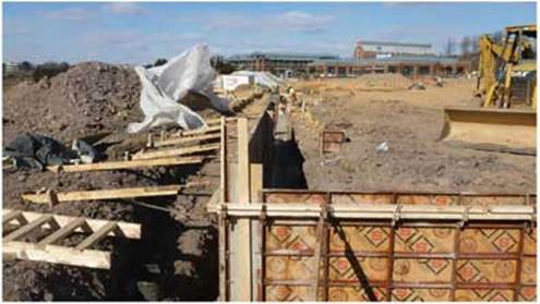 Construction Update on the New Building: Dirt Piles, Heavy Equipment, and Permits
