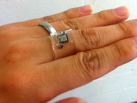 Wearable ECG ring
