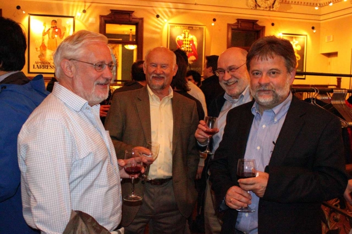 group of 4 physicists