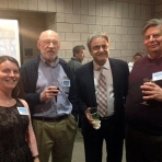 Dean with Physics Faculty