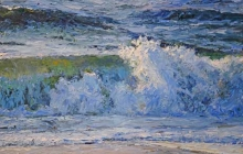 Wave Break by Dean Taylor Drewyer, Painting