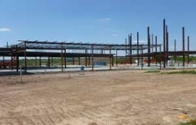 Steel Beams Rise from the Ground: New Building Construction Update