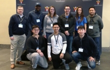 Group of Cyber BPS student competing at VMI