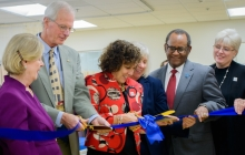 SON ribbon cutting