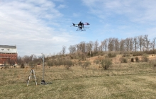 UAS in flight at VSTC