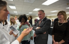 Senator Kaine visits VSTC