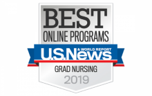 Best of Online Programs US News and World Report - Grad Nursing 2019