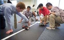 Loudoun County High School Students Participate in Science, Technology & Engineering Day at GW
