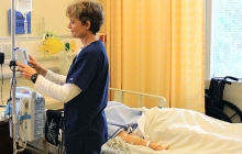 Nursing student / veteran