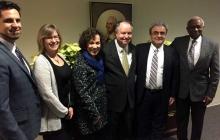 Delegate Bell visits GW