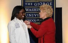 First Annual Pinning Ceremony GW School of Nursing, December 2010