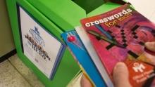 Donate books at GW