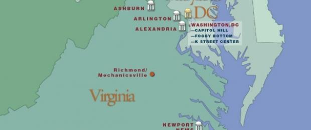 Virginia locations