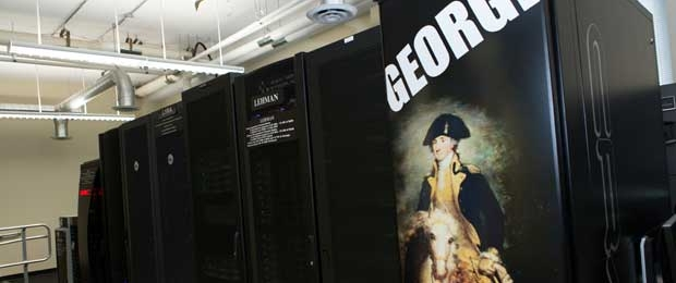 """George"" - equipment in the High Performance Computing Laboratory"