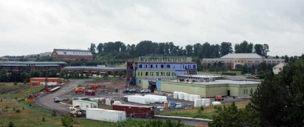 Construction view of VSTC